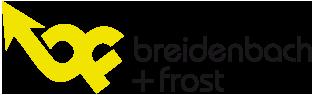 Logo Fachtagung breidenbach + frost: Autonomes Fahren im ÖV
