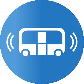 Autonome Mobiliät-Icon